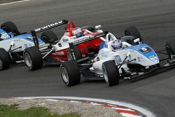 Edoardo Mortara, Signature Dallara F308 Volkswagen, Valtteri Bottas, ART Grand Prix Dallara F308 Mercedes
