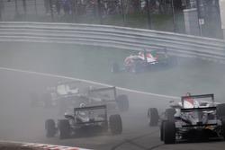 Nicolas Marroc, Prema Powerteam Dallara F308 Mercedes out