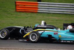 Matias Laine, Motopark Academy Dallara F308 Volkswagen, Daniel Juncadella, Prema Powerteam Dallara F308 Mercedes