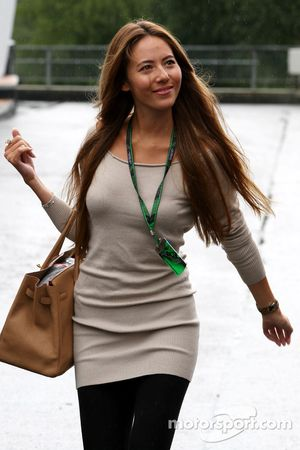 Jessica Michibata girlfriend of Jenson Button