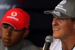 Льюис Хэмилтон, McLaren Mercedes, Михаэль Шумахер, Mercedes GP