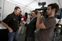Pre-event press conference: Patrick Carpentier
