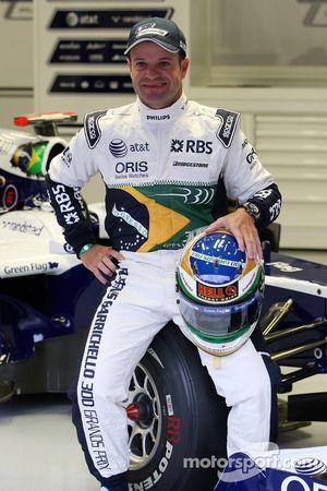 Rubens Barrichello, Williams F1 Team viert 300ste GP