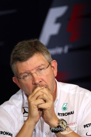 Friday press conference: Ross Brawn, Team Principal, Mercedes GP Petronas