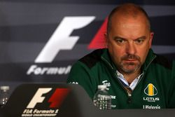 Friday press conference: Mike Gascoyne, Lotus F1 Team, Chief Technical Officer