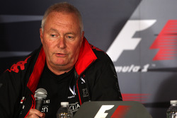 Vrijdag persconferentie: John Booth, Virgin Racing Sporting Director