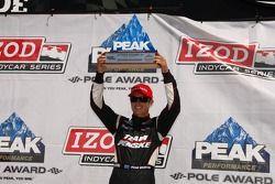 Pole winner Ryan Briscoe, Team Penske