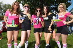 Vijf schattige Hype meisjes