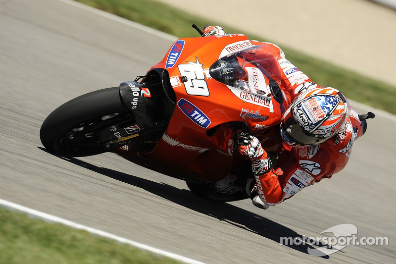 2010: Second season as a Ducati rider