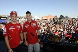 Casey Stoner et Nicky Hayden, Ducati Marlboro Team