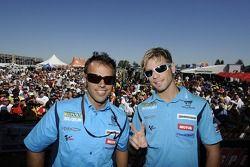 Loris Capirossi et Alvaro Bautista, Rizla Suzuki MotoGP