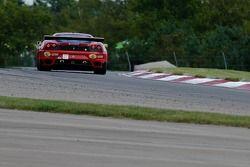 #61 Risi Competizione Ferrari 430 GT : Toni Vilander, Pierre Kaffer
