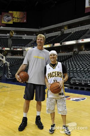 Ben Spies rend visite aux Indiana Pacers