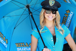 Sympathique grid girl Rizla
