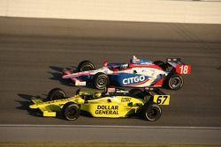 Sarah Fisher, Sarah Fisher Racing and Milka Duno, Dale Coyne Racing