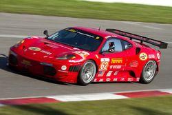#62 Risi Competizione Ferrari F430 GT: Gianmaria Bruni