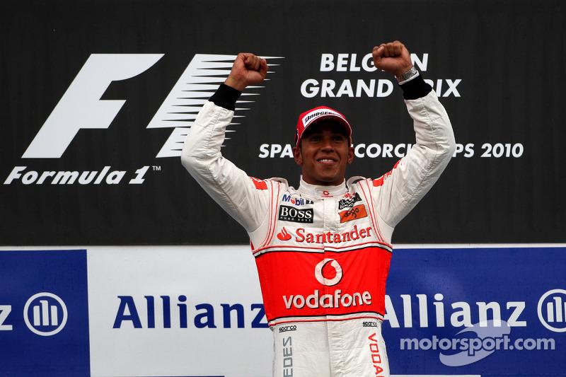 14- GP da Bélgica 2010, McLaren