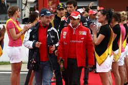 Rubens Barrichello, Williams F1 Team ve Felipe Massa, Scuderia Ferrari