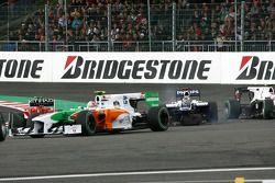Problemen voor Rubens Barrichello, Williams F1 Team