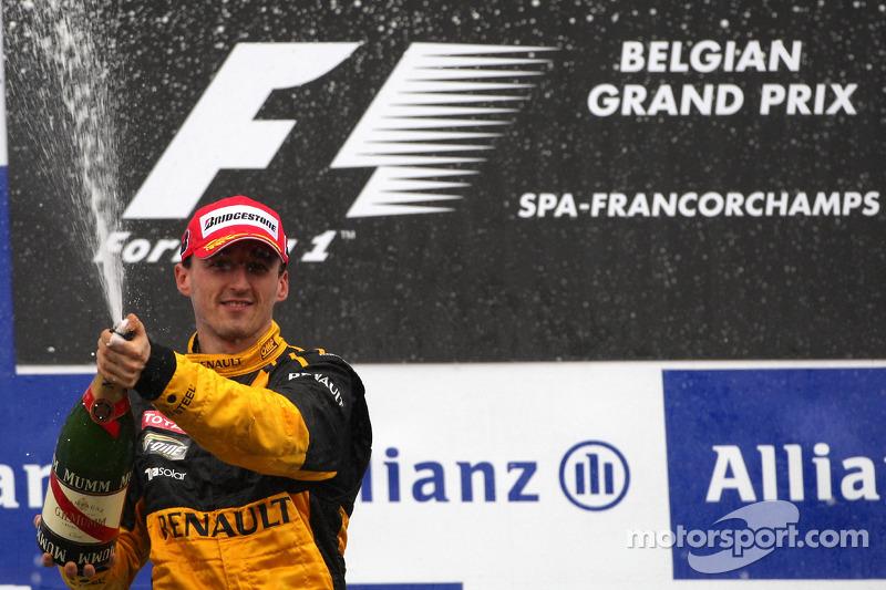 Robert Kubica; Renault (12 podios)