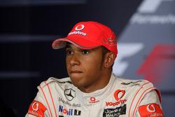 Post-race press conference: race winner Lewis Hamilton, McLaren Mercedes