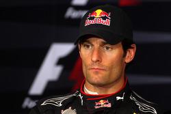 Conférence de presse d'après course :2e Mark Webber, Red Bull Racing