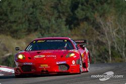 #62 Risi Competizione Ferrari F430 GT : Toni Villander, Gianmaria Bruni