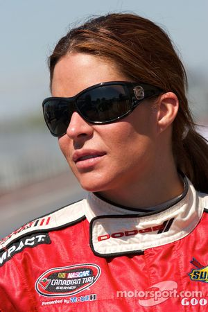 NASCAR Canadian Tire Series rijder Maryeve Dufault