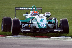 Jazeman Jaafar runs off the track