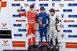 National class podium: James Cole, Menasheh Idafar Juan Carlos Sistos