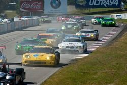 Start of the 2010 Grand Prix of Mosport