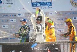 LMP podium: #1 (#100) Patron Highcroft Racing Honda Performance Development ARX-01c: David Brabham,