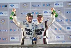 Podium LMP : #6 Team Cytosport Porsche RS Spyder : Klaus Graf, Romain Dumas