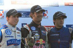 Adriano Buzaid, Jean-Eric Vergne and Felipe Nasr