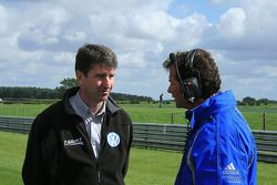 Russell Eacott (T-Sport) and Trevor Carlin (Carlin)