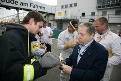 FIA President Jean Todt, gast van ADAC Nordrhein