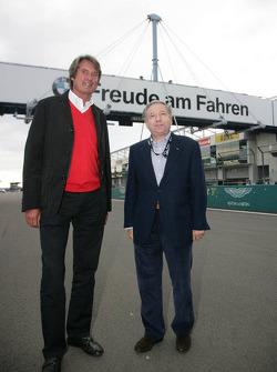 Jean Todt, Président de la FIA, invité d'ADAC Nordrhein avec Hermann Tomczyk, Président d'ADAC Sport