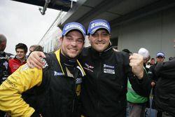 Derde plaats Marc Hennerici en Alexandros Margaritis