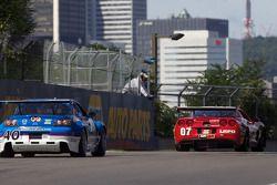 #07 Banner Racing Corvette: Paul Edwards, Scott Russell, #40 Dempsey Racing Mazda RX-8: Charles Espe