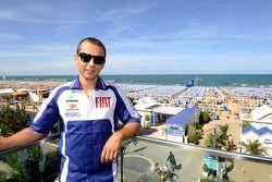 Jorge Lorenzo, Fiat Yamaha Team visits Rimini