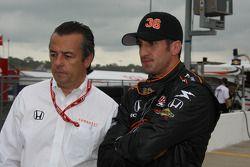 Eric Bachelart and Tomas Scheckter, Conquest Racing