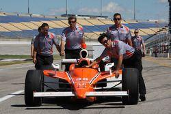Car of Tomas Scheckter, Conquest Racing