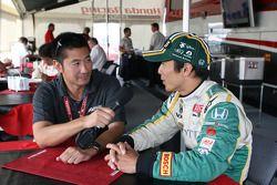 Roger Yasukawa & Takuma Sato, KV Racing Technology