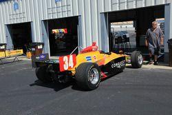 Car of Bertrand Baguette, Conquest Racing