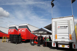 Logistique des pneus Avon