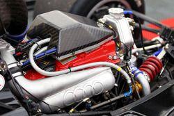 The turbocharged Audi 4-cylinder engine