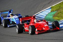 Philipp Eng leads Jack Clarke