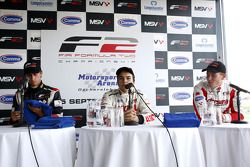 Qualifying for race 1 results: 1st Sergey Afanasiev, 2nd Kazim Vasiliauskas, 3rd Nicola de Marco