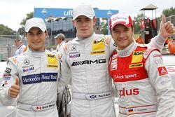 Vainqueur Paul di Resta, Team HWA AMG Mercedes, seconde place Bruno Spengler, Team HWA AMG Mercedes,