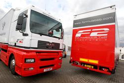 Formula Two transporters